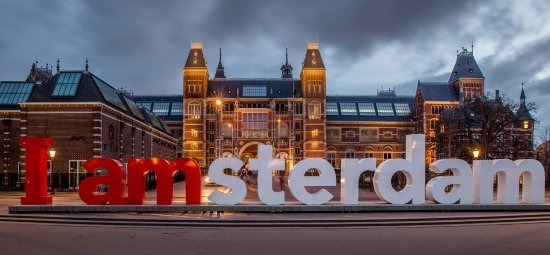 I amsterdam sculpture