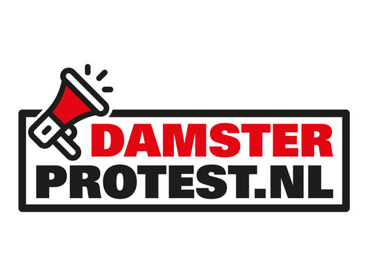 Logo damsterprotest 4 3