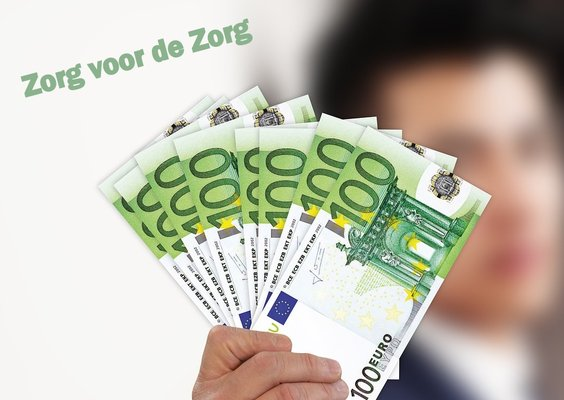 Businessman euro money