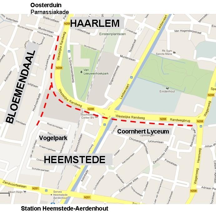 Houtvaart_fietspad