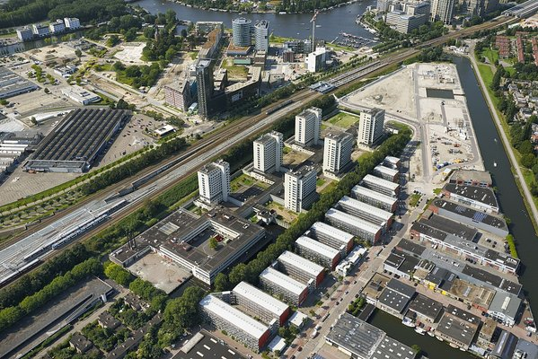1200px luchtfoto penitentiare inrichting amsterdam over amstel  amsterdam