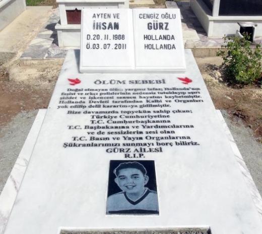 Grafsteen Ihsan Gürz