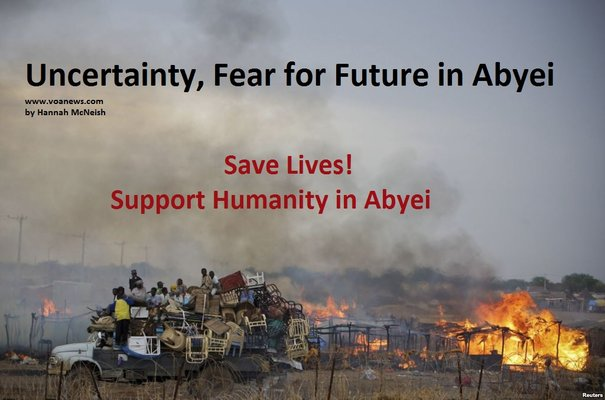 Uncertainty fear for future in abyei