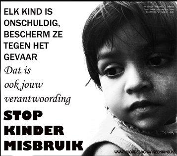 Kindermisbruik straffen, melden en voorkomen - Petities.nl
