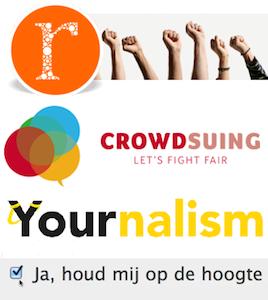 Yournalism.nl, Crowdsuing.nl, Rechtspraak.nu