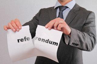 Afbeeldingsresultaat voor afschaffen referendum