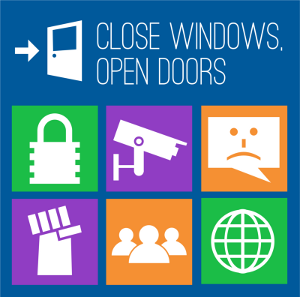 Windows infographic share