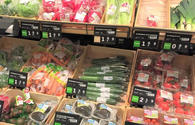 Stop plastic in de supermarkt