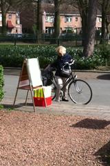 Buurtbewoners halen posters